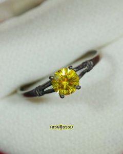 2448_แหวนทรงนิยม พลอยเหลือง_01